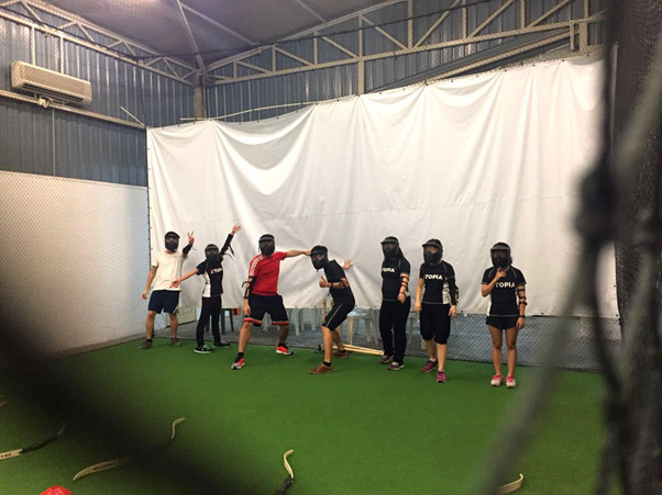 The Archery Tag game in PJ