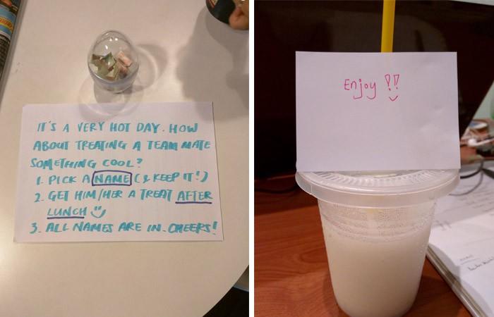 Here's my Coconut Shake from my senior, Inez. Yumz!