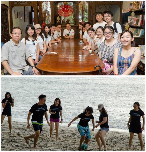 The lucky intern joined the company trip to Penang during her third week of internship